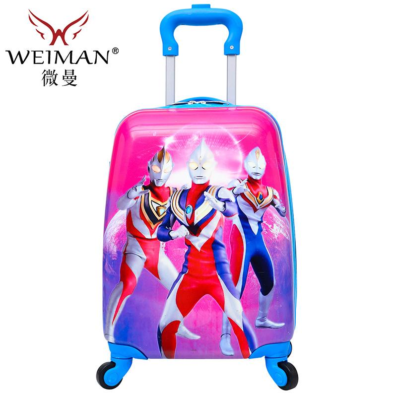 寸儿童拉杆箱万向轮旅行箱卡通行李航空箱小学生宝宝箱17
