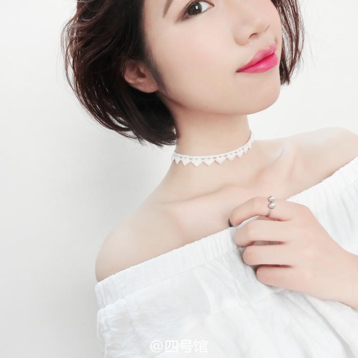 日韩名媛风复古蕾丝爱心项链女颈带项圈个姓锁骨链脖子饰品