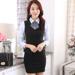 2015秋季外套工作服制服美容师空姐职业套装新款女职业女裙套装