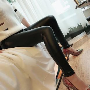 祖艾 定制   超百搭  修身 瘦腿  皮裤 9-14