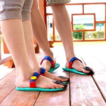 沙滩鞋 情侣人字拖豆皮拖鞋 休闲鞋 男夏季男女凉拖鞋 dopie夹趾拖鞋