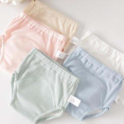 四层宝宝尿布裤隔尿防漏训练裤新生婴儿可洗全纯棉纱布儿童学习裤