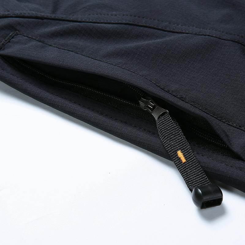 新款男式速干裤大码春夏季薄款长裤加肥加大透气弹力登山裤男 2017