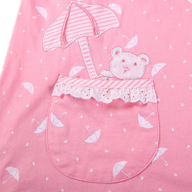 香港康谊睡衣女纯棉夏季新款短袖五分裤女士睡衣全棉家居服套装女