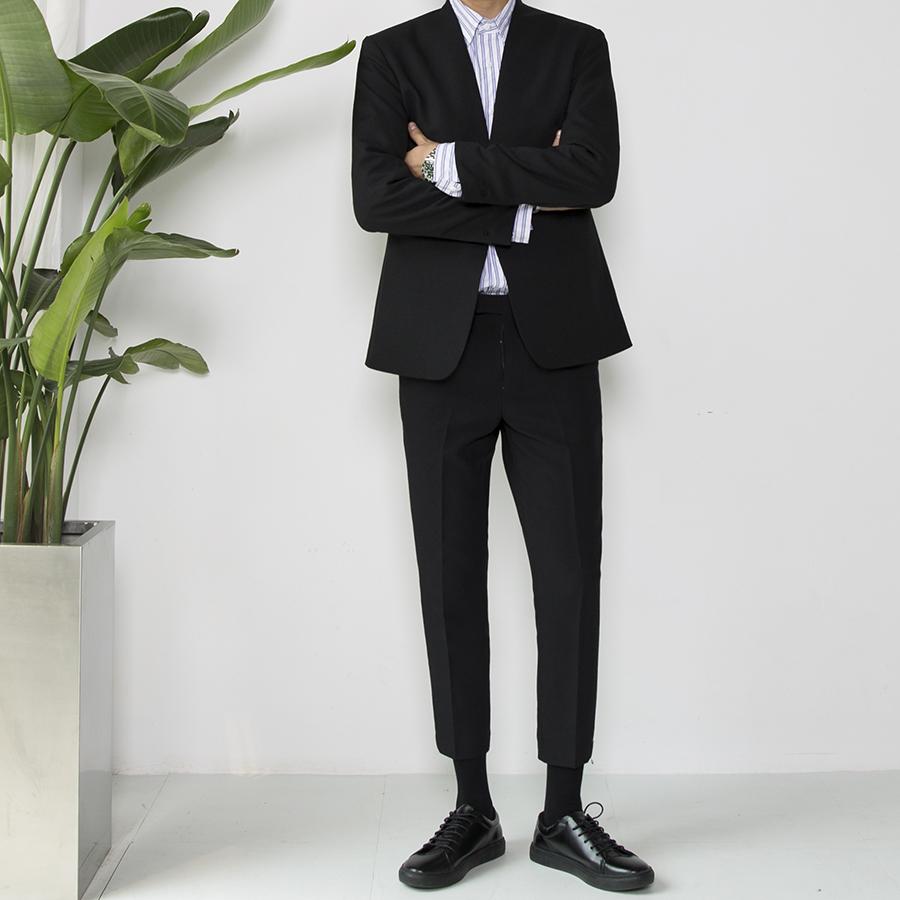大赖自制 初秋韩版青少年男士西装修身英伦休闲商务流行西服外套
