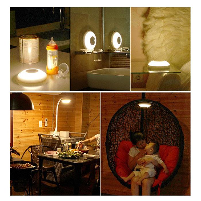 充电喂奶灯婴儿哺乳灯安抚灯小夜灯卧室床头台灯暖光 LED 韩国直邮
