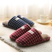 冬季家居情侣棉拖鞋 儿童女室内冬天男防滑厚底居家保暖毛毛拖鞋图片