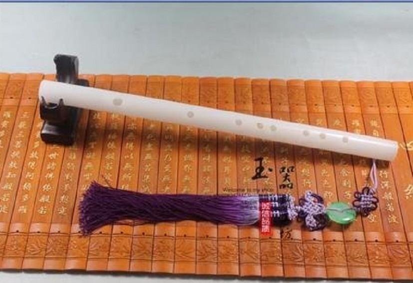多种笛穗可选 音质清脆 乐器 天然白玉笛子白玉笛 特价直销