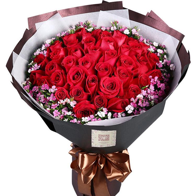 红玫瑰湖南郴州市北湖苏仙区同城鲜花店速递送花上门