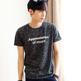 男士短袖T恤2017新款夏季个性潮流印花百搭韩版宽松半袖男装衣服T