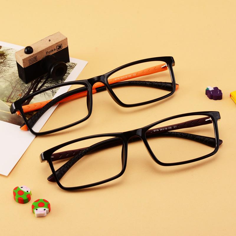 超轻近视眼镜架眼镜框全框眼镜TR90近视镜框配近视防辐射眼镜