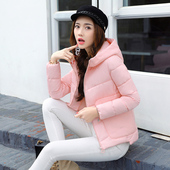 2017冬季短款棉衣女装小棉袄韩国版学院风羽绒棉服学生可爱外套