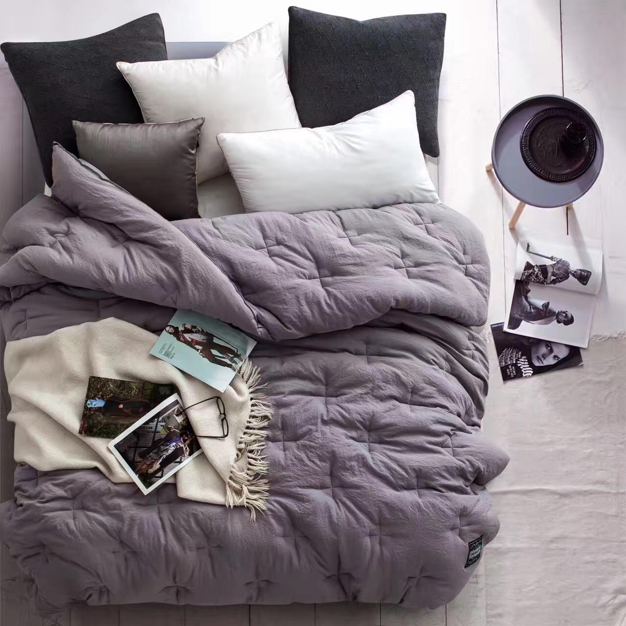 加厚雙人秋冬水洗棉冬被 超舒適 出口 保暖棉被
