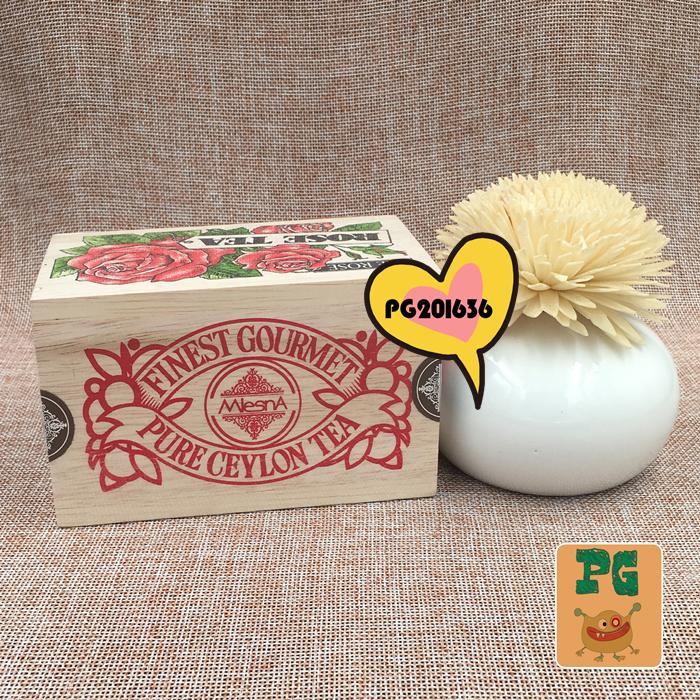 100g 木盒礼盒装 花茶 玫瑰味茶 曼斯纳 Mlesna 斯里兰卡原装进口