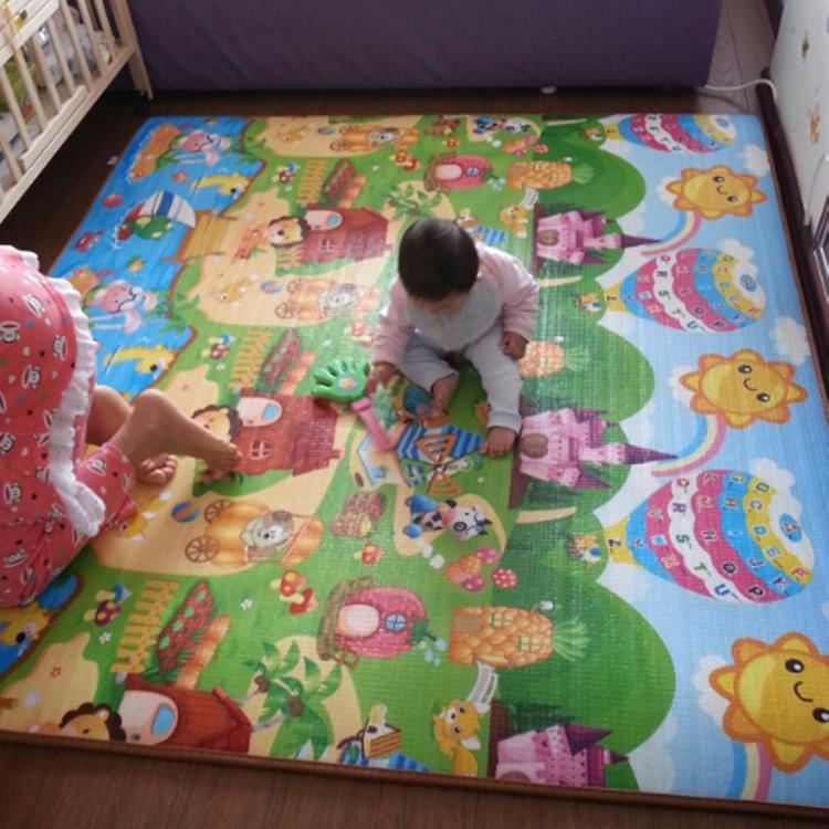 加厚宝宝爬爬垫婴儿童防滑防水拼接爬行垫客厅无味泡沫地垫子家用