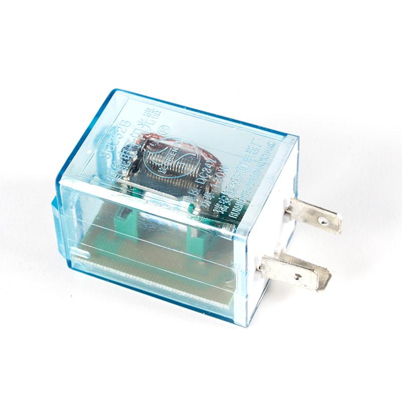 通用型汽车智能电子闪光器3脚插式12v/24v货车转向灯三插继电器