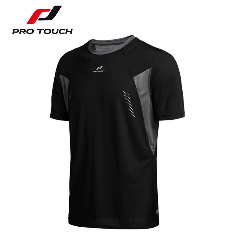 宜动 男士速干跑步运动短袖t恤圆领透气健身训练上衣吸汗轻盈夏薄