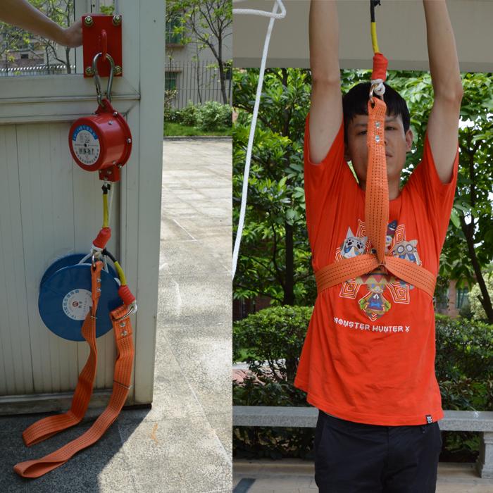 逃生安全绳救生绳高层自救逃生绳救生套装高楼应急缓降器消防多人