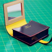 MINI皮革包纸样 3.38斩距 DIY补妆包 纸型 QQW-155 口红包版型
