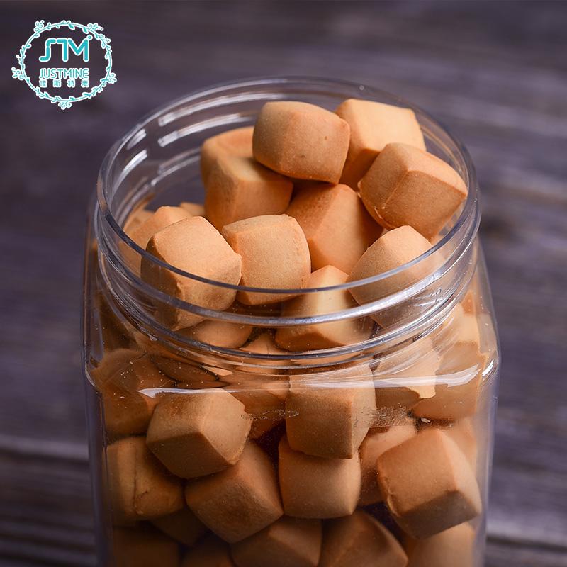 罐装新品促销 120g 迷你手工小石头曲奇饼干休闲美味零食小吃糕点