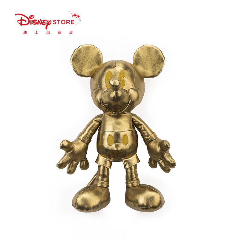 新款金色米奇系列玩偶2017迪士尼时尚Disney设计师款