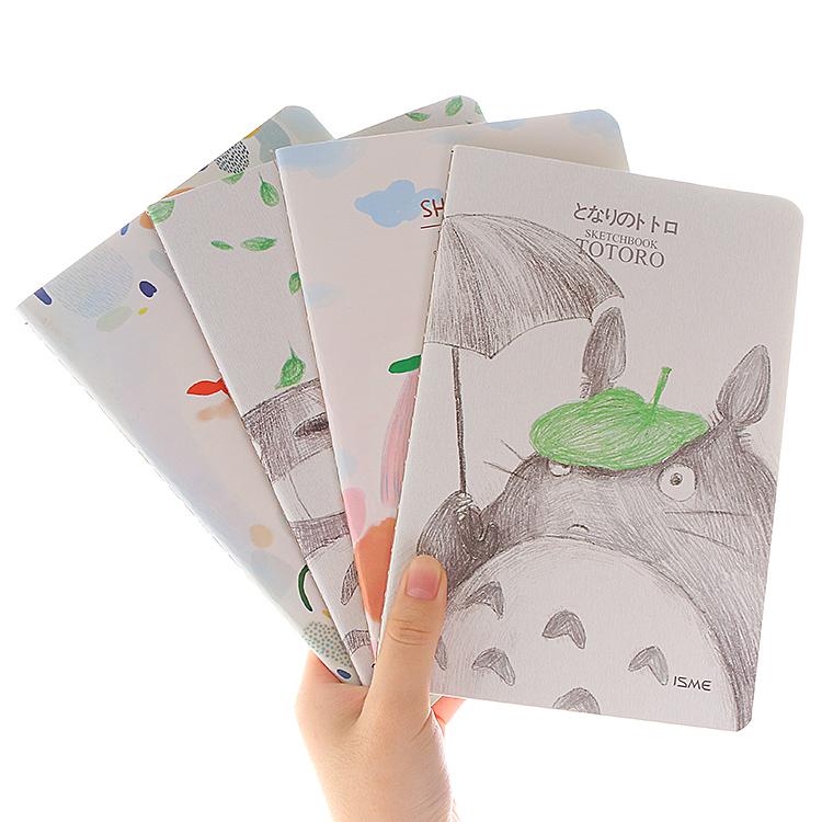 韩国文具 小清新可爱32k日记本子可爱软面抄记事本笔记本车线本