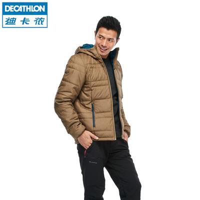 迪卡侬 户外男女 情侣保暖短款可折叠轻薄羽绒棉服  QUECHUA L2D