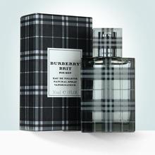 经典正品Burberry/博柏利brit英伦风格男士香水50ml淡香清新持久