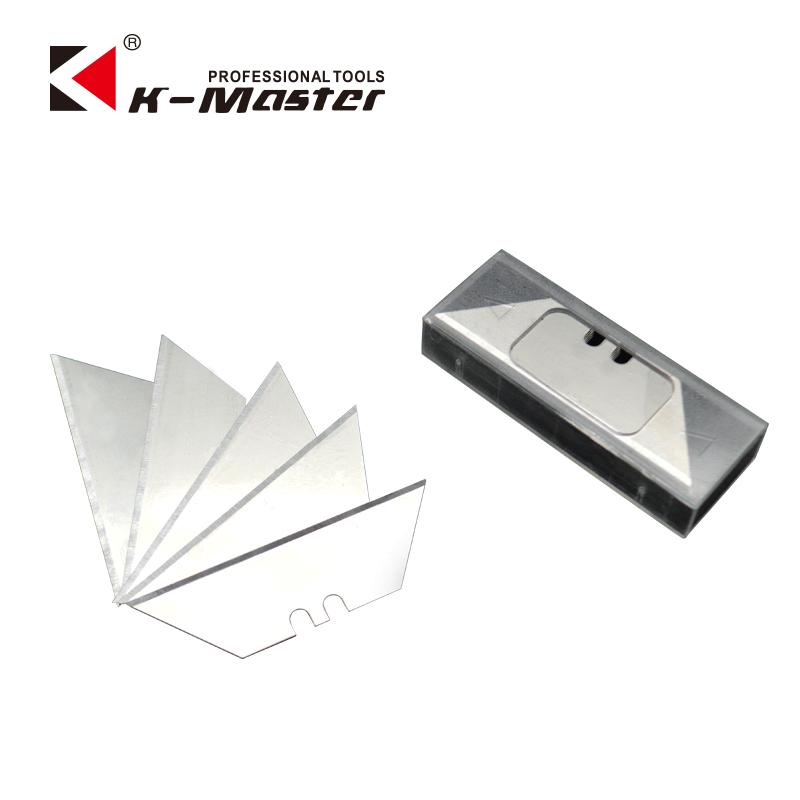 凯马特 T型梯形刀片 折叠刀刀片 美工刀片墙纸刀片地毯割刀10片装