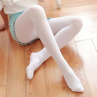 防勾丝春秋中厚天鹅绒连裤袜日系黒白色丝袜性感显瘦打底长袜子女