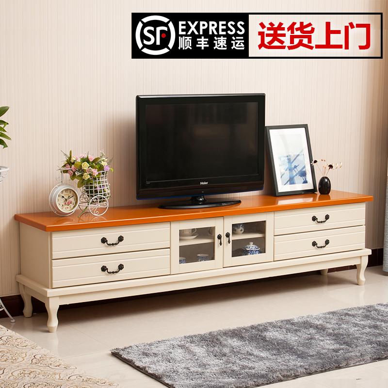 欧式实木电视柜简约现代小户型美式电视柜宜家客厅卧室电视柜特价