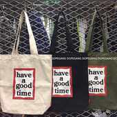 【现货包顺丰】【have a good time】Frame Tote Bag 托特包三色