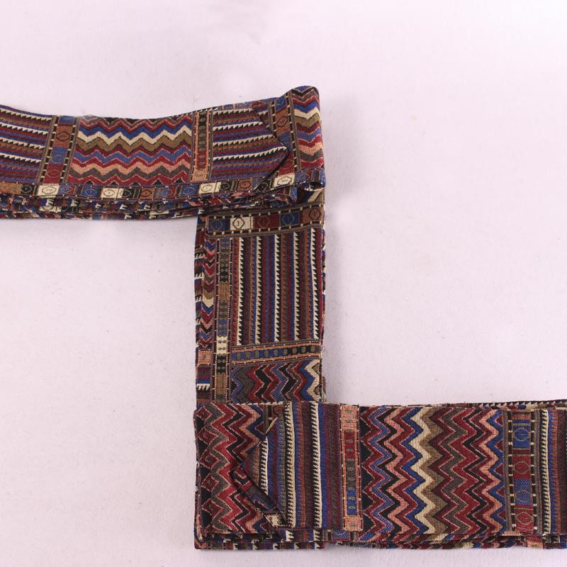 藏装腰带 西藏民族服装男女通用民族风腰带 棉麻加厚加长藏袍腰带