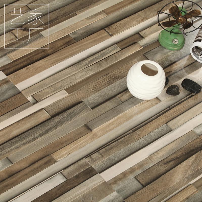 12mm强化复合地板家用工装强化木地板亮面高光地板店