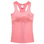 夏季女子运动背心工字聚拢减震带胸垫网球背心健身瑜伽跑步女T恤