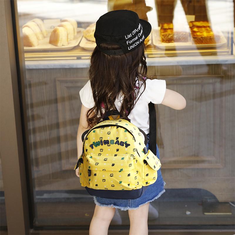 儿童背包双肩幼儿园书包5小4可爱2男孩女宝宝1-3-6岁迷你休闲韩版