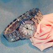 【防水】香港BS独家满天星欢乐颂王子文同款手表水钻满钻石英手表