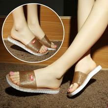 家居家女室内一字拖塑料防滑凉拖鞋 浴室拖鞋 包邮 水晶洗澡鞋 新款