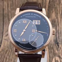 二手名表朗格一号系列日期显示男士手动机械手表正品包邮可分期