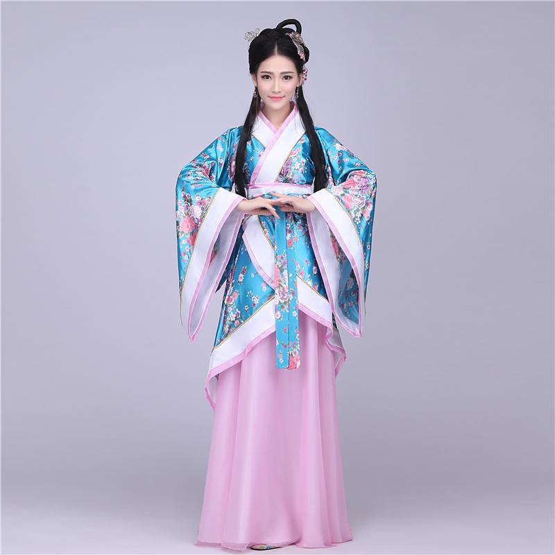 2016新款古装汉服襦裙改良如梦霓裳公主贵妃古代汉服cosplay服装