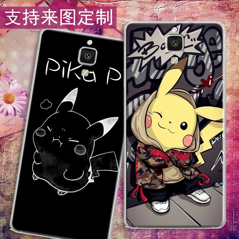 皮卡丘卡通三星sm-s4手机壳套i9500包边防摔外套galaxys4可爱创意