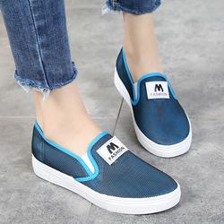 舒适单鞋平底运动休闲鞋