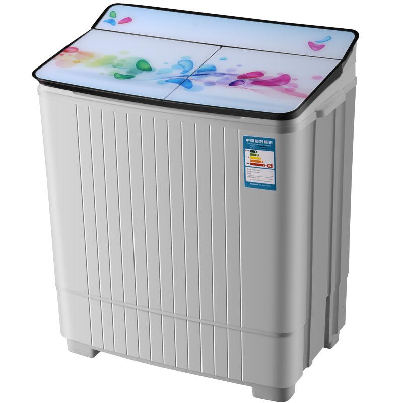 小洗衣机半全自动双缸迷你小型双桶大容量家用天鹅绒洗衣机包邮