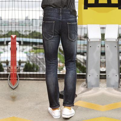 Lee男装 经典百搭男士修身复古低腰直脚牛仔裤潮LML7212MA4PG