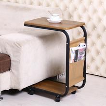 边几移动小茶几茶桌简约小桌子迷你角几小方桌沙发边桌卧室床头桌