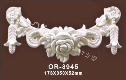 特价批发PU欧式装饰材料 家装建材 非石膏 精美雕刻饰花OR-8945
