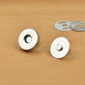 凤羽 磁纽磁性扣 搭扣 包包布艺复古二爪磁铁纽扣包扣
