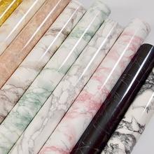 加厚大理石贴纸厨房台面柜子家具翻新贴纸桌面防水墙纸壁纸自粘
