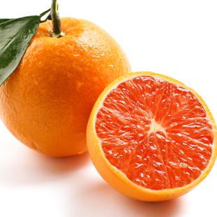现摘秭归红肉血橙9斤 新鲜水果中华红橙子 手剥脐橙
