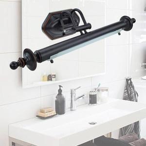 莹莹灯饰KS复古美式镜灯无频闪欧式镜柜镜灯浴室led卫生间镜前灯